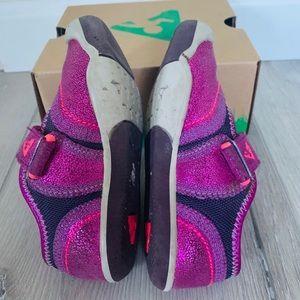 PLAE Shoes - Plae Emme Metallic Raspberry Shoes 7.5